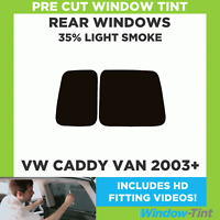 2008-2015 Rear Kit in 20/% Dark Pre Cut Car Window Tints Audi A4 Estate B8