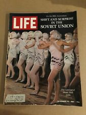1967 November 10 Life Magazine Shift and Surprise in the Soviet Union (K8)