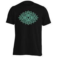 Mandala Mint Men's T-Shirt/Tank Top n342m