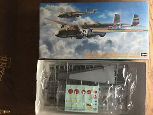 HASEGAWA 1/72 MITSUBISHI G3M2 / G3M3 TYPE 96 ATTACK BOMBER NELL MODEL 22/23