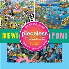 Tooniverse Pieceless Puzzle (2 Sided, 1 Piece)