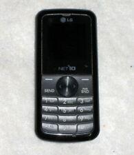 Net 10 Black LG NTLG300GB Bar Cell Phone