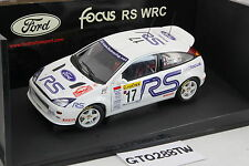 AUTOart 1:18 scale Ford Focus RS WRC 2001 Rally Monte-Carlo #17 (F. Delecour)