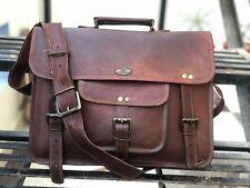 Top Trending GVB Leather Vintage Laptop Messenger Handmade Briefcase Bag Satchel