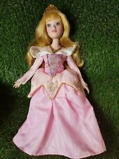 """Extremely Rare 16"""" TALL Disney's AURORA Porcelain Doll Collectable Vintage + KEY"""