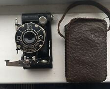 Vintage/ Antique Vest Pocket Kodak Model B Folding Camera & Case