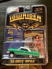 Revell Lowrider Magazine 63 1963 Chevy Impala Issue #186