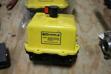 Worcester Controls Series 75 Electric Actuator Model 10 755Wm2 150 in-lbs New