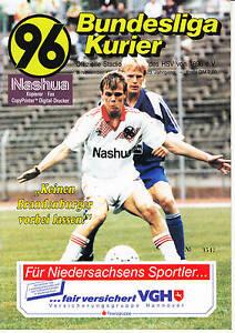 II. BL 91/92 Hannover 96 - BSV Stahl Brandenburg, 09.11.1991
