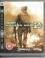 Call of Duty Modern Warfare 2 Sony Playstation 3 Game Ps3 Mw2