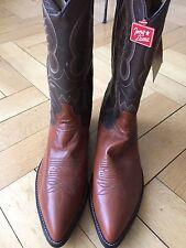 Neue Tony Lama Cowboy Western Stiefel Boots Leder orange/braun  US 12.5D EUR 46