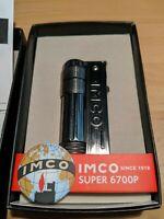 IMCO Super Triplex 6700 BRASS GUN OIL - NEU in OVP - Benzin Feuerzeug