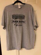 Juan Soto Harrisburg Senators Star Wars Night T-Shirt Size XL Gray SGA Nationals
