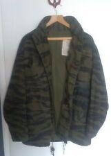 More details for us army tiger stripe m65 jacket.