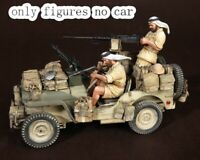1/35 Resin SAS North Africa 2 Soldiers WWII unpainted unassembled BL958