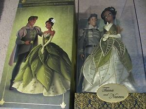 DISNEY FAIRYTALE DESIGNER COLLECTION TIANA & PRINCE NAVEEN L.E TO 6,000 PC