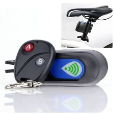 Bicycle Alarm Cycling Security Vibration Alarms with Wireless Remote Control