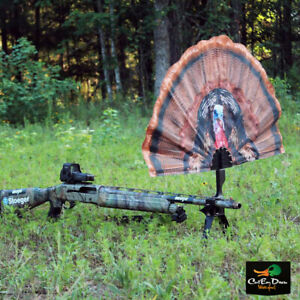 NEW MOJO OUTDOORS TAIL CHASER MAX TURKEY FAN DECOY BLIND HIDE SHOTGUN