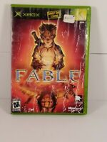 Fable Xbox 2004 Video Game Original Xbox Complete Tested Manual RPG Adventure