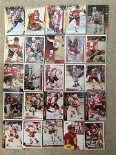 Calgary Flames Hockey Cards Lot of 230 NHL Fleury Otto MacInnis Vernon Roberts