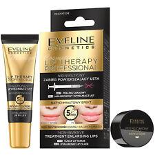 Eveline Lips Enlarging Treatment Sugar Peeling 7ml Hyaluronic Lip Filler 12ml
