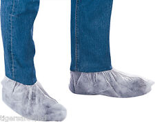 Delta Plus Venitex SURCHPO White Non-Woven Polypropylene Overshoes PPE 50 Pairs