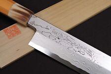 Damascus Suminagashi Kiritsuke Sword 27cm Blue Steel #1 chef knife YOSHIHIRO