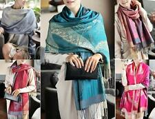 WHOLESALE BULK LOT OF 10 MIXED STYLE Pashmina Large Warp SCARF/SHAWL SC057 058