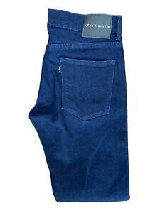 Original Levi's Line 8 Slim Fit Tapered Leg Indigo Stretch Jeans W30 L32 ES 8206