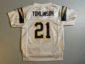 New Reebok On-Field LaDainian Tomlinson Toddler 3T San Diego Chargers Jersey