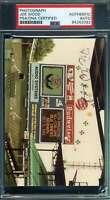 Smokey Joe Wood PSA DNA Coa Autograph Hand Signed Original 1983 Photo