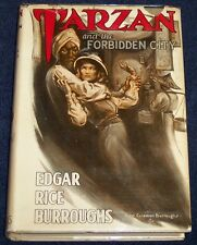 TARZAN &THE FORBIDDEN CITY Edgar Rice Burroughs 1948 ERB, INC Original Dust Jack