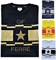 T-Shirt Maglietta Gianfranco Ferrè Uomo Maniche Corte Girocollo Men T-Shirt Crew
