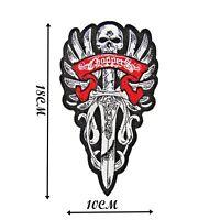 Chopper Dagger Iron On Patch High Quality Motif Badge Decoration Applique P515