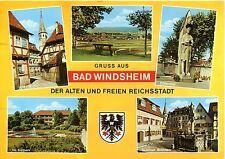 Alte Postkarte - Gruss aus Bad Windsheim der alten und freien Reichsstadt