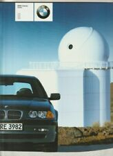 2001 BMW E46 3 SERIES SEDAN Prestige 56p Brochure 318i 320i 325i 330i