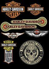 Kit 8 Adesivi Harley Davidson 883 1200