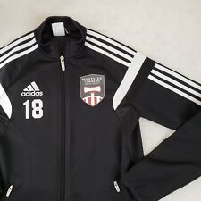Adidas Portland Timbers Youth Lg MLS Jacket Primary Kit Authentic Apparel RARE