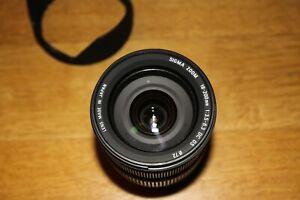 Obiettivo Zoom Stabilizzato Sigma 18-200mm f/3.5-6.3 DC OS per Canon eos