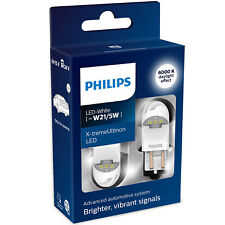 Philips X-tremeUltinon gen2 LED W21/5W 6000K Cool White LED Car Bulbs (Twin)