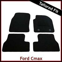 FORD C-MAX Mk1 2003-2010 Tailored Carpet Car Floor Mats BLACK