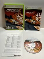 Forza Motorsport 2 (Microsoft Xbox 360, 2007) Game With Manual