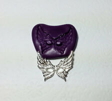 Silicone Mold Feather Female Masquerade Mask M (32mm) - Jewelry Dollhouse PMC