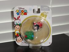 DISNEY TSUM TSUM 2016 CHRISTMAS MICKEY WITH STACKABLE HOLIDAY ACCESSORY