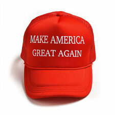 f9da7e44283 Donald Trump Hat Make America Great Again 2016 Republican Adjustable Mesh  Cap
