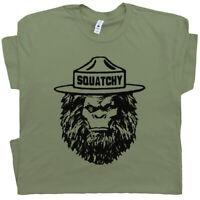 Sasquatch Smokey T Shirt The Bigfoot Bear Funny Camping Hiking Men Women Hiker