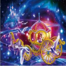 3D 5D Cinderellas Coach Embroidery Cross stitch Mosaic Diamond Painting kit