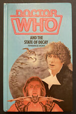 """More details for doctor who - """"and the state of decay"""" hardback book (not ex-library)"""