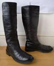 COSTUME NATIONAL BOOTS EU37.5 UK4.5 real leather black