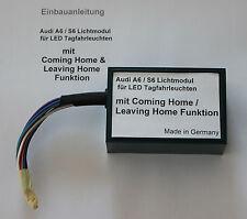 Audi A6 S6 4F LED TFL Tagfahrleuchten Modul Steuergerät Leuchten Lichtmodul
